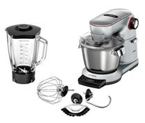 Bild zu Bosch OptiMUM MUM9YX5S12 Küchenmaschine mit Thermosafe Mixbehälter und Profi-Patisserie Set für 499€ (Vergleich: 575€)