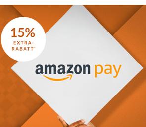 Bild zu [endet heute] Engelhorn: 15% Rabatt auf fast Alles beim Bezahlen mit Amazon Pay