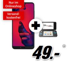 Bild zu [Super] Huawei P 20 Pro inkl. Nintendo 2DS XL für 49€ mit Telekom Tarif (1GB Datenflat und Sprachflat) für 21,99€/Monat