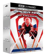 Bild zu Amazon.fr: Spider-Man Trilogie (4K Ultra HD Blu-ray) für 33,89€ (Vergleich: 59,98€)