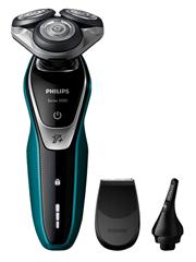 Bild zu PHILIPS Shaver series 5000 S5550/44 Nass-/Trockenrasierer + Nasenhaartrimmer für 80,99€ (Vergleich: 107,30€)