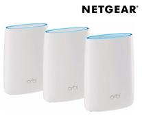 Bild zu Netgear Orbi Multiroom WLAN-System (Orbi RBK50 + RBS50) für 408,90€ (Vergleich: 564,55€)