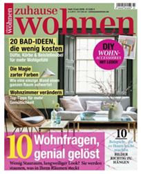 """Bild zu Jahresabo der Zeitschrift """"zuhause wohnen"""" für 38,50€ (statt 42,50€) + 30€ BestChoice Gutschein"""