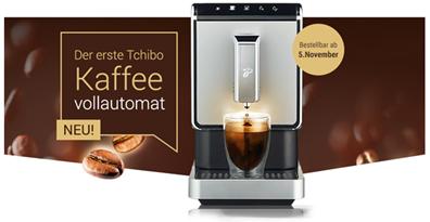 Bild zu Tchibo Kaffeevollautomat »Esperto Caffè« für 269€ (mit TchiboCard nur 199€)