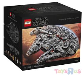 Bild zu [Bestpreis] LEGO Star Wars – 75192 Millennium Falcon für + 2 Kerzen für 628,95€ (vergleich: 691,49€)