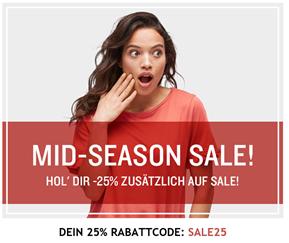 Bild zu [endet heute] Tom Tailor: Sale mit bis zu 70% Rabatt + 25% Extra Rabatt dank Gutschein