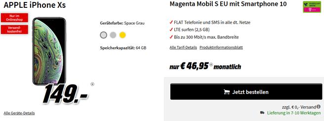 Bild zu Media Markt RED Friday Handytarife in der Übersicht, z.B. Huawei P20 Pro mit D1 Flat Allnet Comfort für 19,99€/Monat + 49€ einmalige Zuzahlung