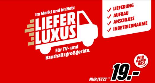 Bild zu Ratgeber: MediaMarkt Lieferluxus bei Kauf von TV und Haushaltsgroßgeräten für 19€ ab 299€