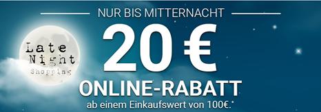 Bild zu Karstadt: 20€ Rabatt auf (fast) alle Artikel ab 100€ Bestellwert