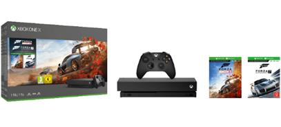 MICROSOFT Xbox One X 1TB Konsole – Forza Horizon 4 Forza Motorsport 7 Bundle(2)
