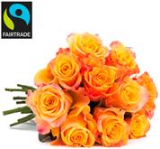 """Bild zu BlumeIdeal: Blumenstrauß mit 33 Rosen """"OrangeFire"""" (50cm Stiellänge) für 20,98€ inkl. Versand"""