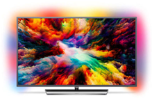 Philips 139cm 55 Zoll 4K Ultra HD LED Fernseher 3fach Ambilight HDR Android TV eBay