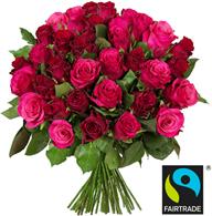 Bild zu BlumeIdeal: 39 rote Rosen (50cm Stiellänge) für 22,98€ inkl. Versand
