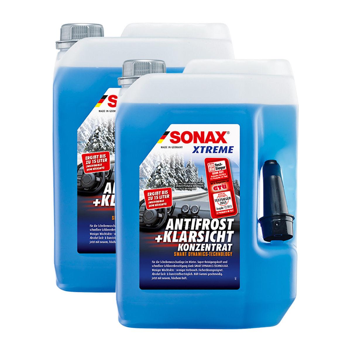 Bild zu Sonax Xtreme AntiFrost + KlarSicht Scheiben Frostschutz im Doppelpack für 23,99€ (Vergleich: 31,83€)