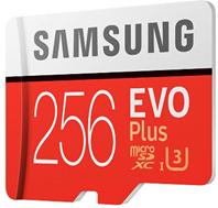 Bild zu Amazon.es: Samsung MicroSDXC EVO Plus 256GB Speicherkarte inkl. SD-Adapter für 53,16€ inkl. Versand (Vergleich: 64,99€)