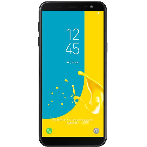 Bild zu MediaMarkt Smartphone-Fieber, z.B. 6 Zoll Dual-Sim Smartphone Samsung Galaxy J6 + 25€ Geschenk-Gutschein für 129€ (Vergleich: 152,95€)
