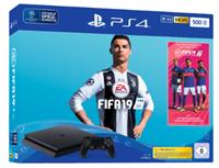 SONY Playstation 4™ 500GB Jet Black EA Sports Fifa 19-Bundle