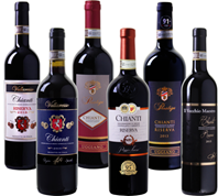 Bild zu Weinvorteil: 6er Wein Probierpaket Chianti für 39,96€ inkl. Versand