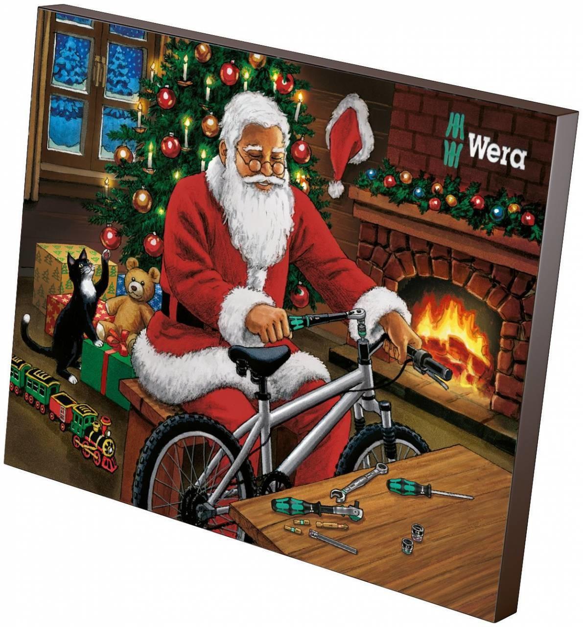 Bild zu 25-teiliger Wera Adventskalender 2018 für 37,80€ (Vergleich: 45,62€)