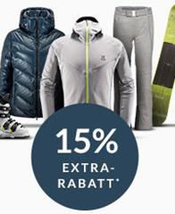 Bild zu Engelhorn Sport: 15% Extra-Rabatt auf ausgewählte Jacken und Pullover (z.B. Jack Wolfskin, The North Face und Quiksilver)