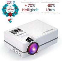 Bild zu WONNIE Mini Beamer (2200 Lumen, 1080P) für 64,99€ inkl. Versand