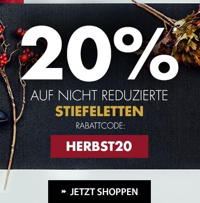 Bild zu Roland-Schuhe: 20% Rabatt auf nicht reduzierte Stiefeletten