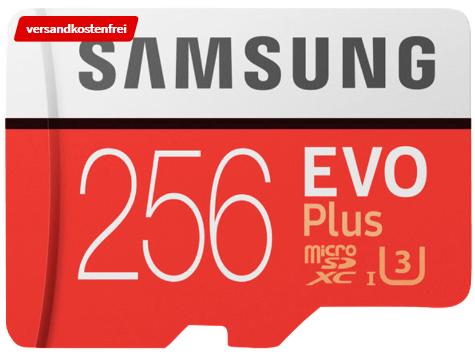 Bild zu SAMSUNG Evo Plus 256 GB für 49€ inkl. Versand (Vergleich: 57,99€)