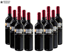 12er-Paket Calle Principal - Tempranillo-Cabernet Sauvignon - Vino de la Tierra Castilla