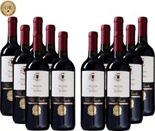 12er-Paket Villa Gracchio - Rosso - Puglia IGT