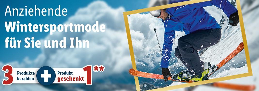 Bild zu Lidl: Vier Wintersportmode Artikel kaufen und nur drei bezahlen