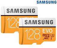 Bild zu 2x Samsung Evo MicroSDXC-Karte 128 GB inkl. Adapter für 45,90€ inkl. Versand (Vergleich: 55,98€)