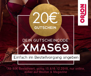Bild zu Orion: 20€ Rabatt auf (fast) alle Artikel im Shop (MBW: 80€)