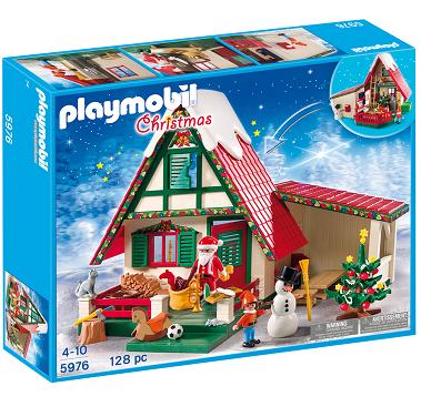 Bild zu Playmobil Zuhause beim Weihnachtsmann (5976) für 23,09€ (Vergleich: 39,99€)