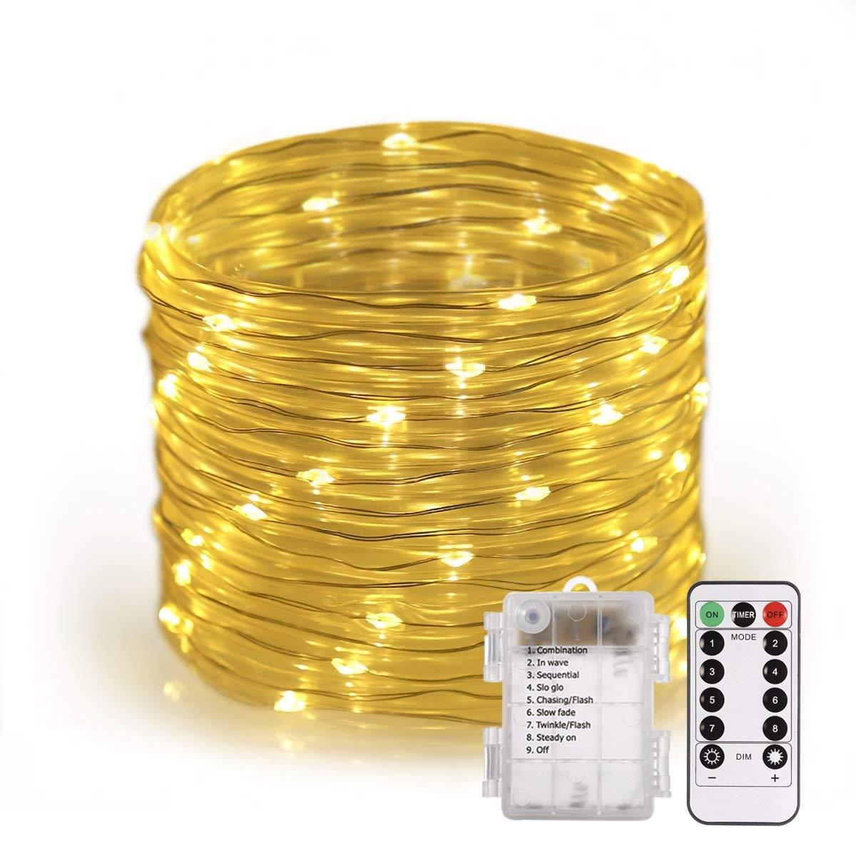 Bild zu [Prime] 120er LED Lichterschlauch mit Fernbedienung (14 Meter) für Innen und Außen für 11,69€