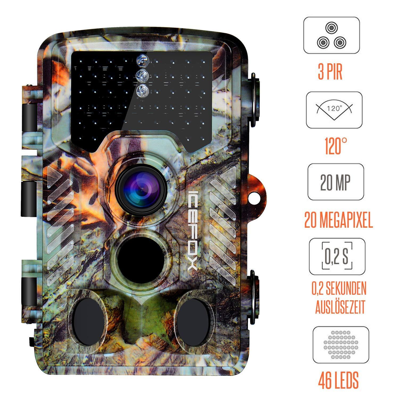 Bild zu icefox 20 MegaPixel Überwachungskamera | Wildkamera für 64,99€