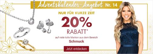 Bild zu Galeria Kaufhof: 20% Rabatt auf Schmuck