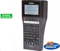 Brother P-touch H500 Beschriftungsgerät mit PC-Anschluss schwarz