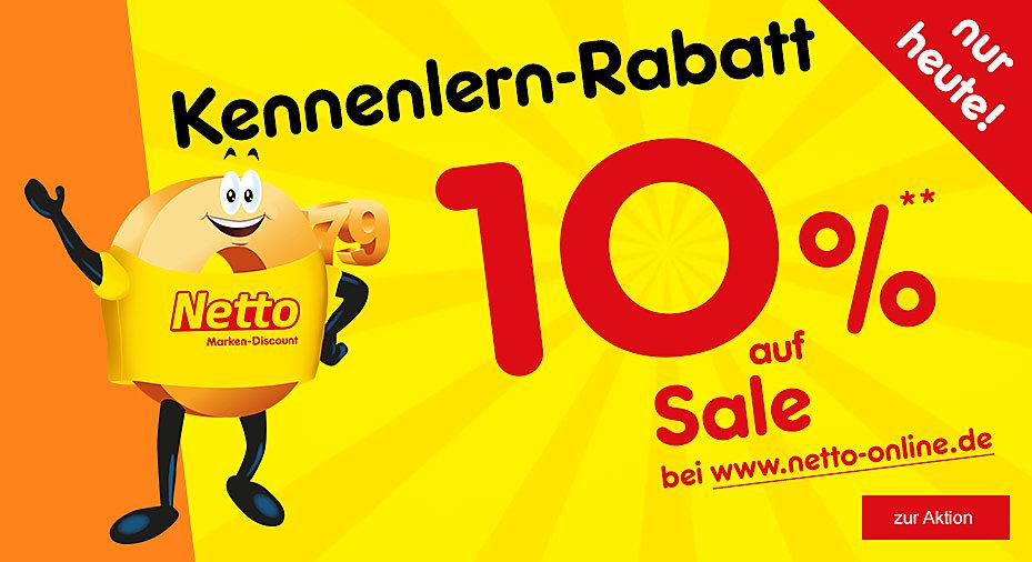 Bild zu Netto: 10% Rabatt auf auf die bereits reduzierten Artikel im Sale