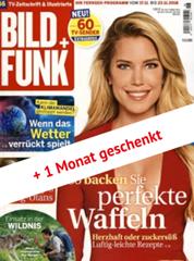 """Bild zu 52 Ausgaben """"Bild + Funk"""" für 114,40€ + 110€ Amazon Gutschein als Prämie"""