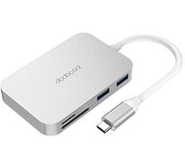 Bild zu dodocool USB C Hub 6-in-1 Dual Typ C Hub Adapter für 11,99€