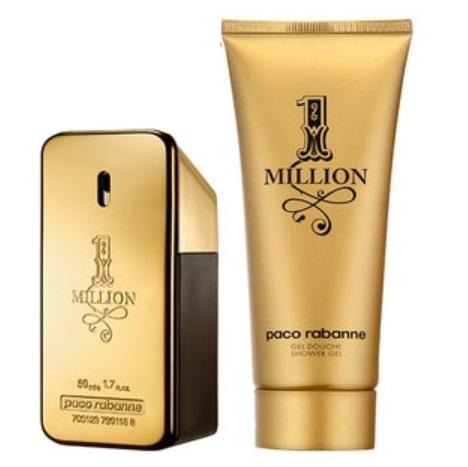 Bild zu Paco Rabanne 1 Million Herren Duftset (50ml EdT + 100ml Duschgel) mit kostenloser Duftprobe und Produktproben für 36,95€ (Vergleich: 49,50€)