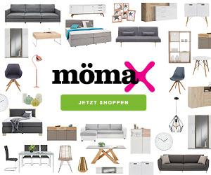 Bild zu Mömax: 25% auf fast alles im Online-Shop und kostenloser Versand