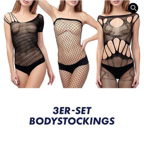 Bild zu Eis.de: 3er-Set Bodystockings + 6 Gratisartikel für 5,97€ inkl. Versand
