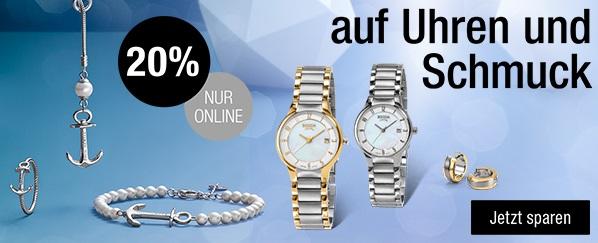 Bild zu Galeria Kaufhof: 20% Rabatt auf Uhren und Schmuck