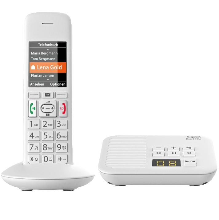 Bild zu Schnurlostelefon GigaSet E370A für 39€ (Vergleich: 51,09€)