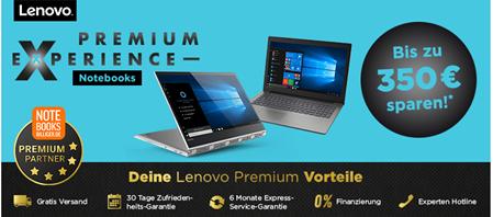 Bild zu Notebooksbilliger.de: Lenovo Premium Experience Days mit bis zu 350€ Rabatt + 50€ Extra Rabatt mit PayPal