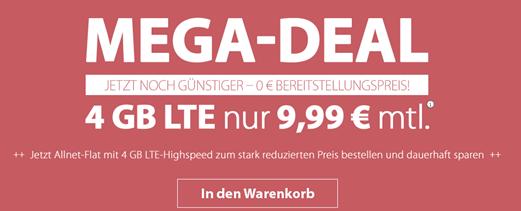 Bild zu PremiumSIM: monatlich kündbarer Vertrag im o2-Netz mit 4GB LTE Datenflat, SMS und Sprachflat für 9,99€/Monat