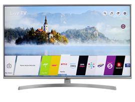 Bild zu LG 49UK7550LLA, 4K/UHD-Smart TV, 123 cm [49″]–Silber für 499€ (Vergleich: 599,99€)
