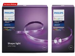 Bild zu Philips Hue LightStrip Plus 2 m Basis + 1m Erweiterung für 59€