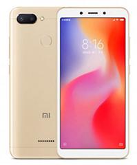 Bild zu Xiaomi Redmi 6 Smartphone 64GB gold (Globale Version inkl. Band 20) für 108,79€ (Vergleich: 138,26€)